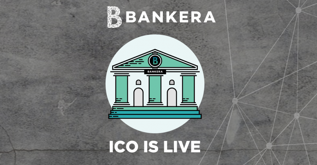 bankera ico is live